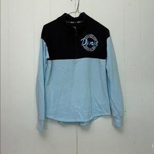 Justice activewear Dance Half Zip Sweatshirt Sz 14